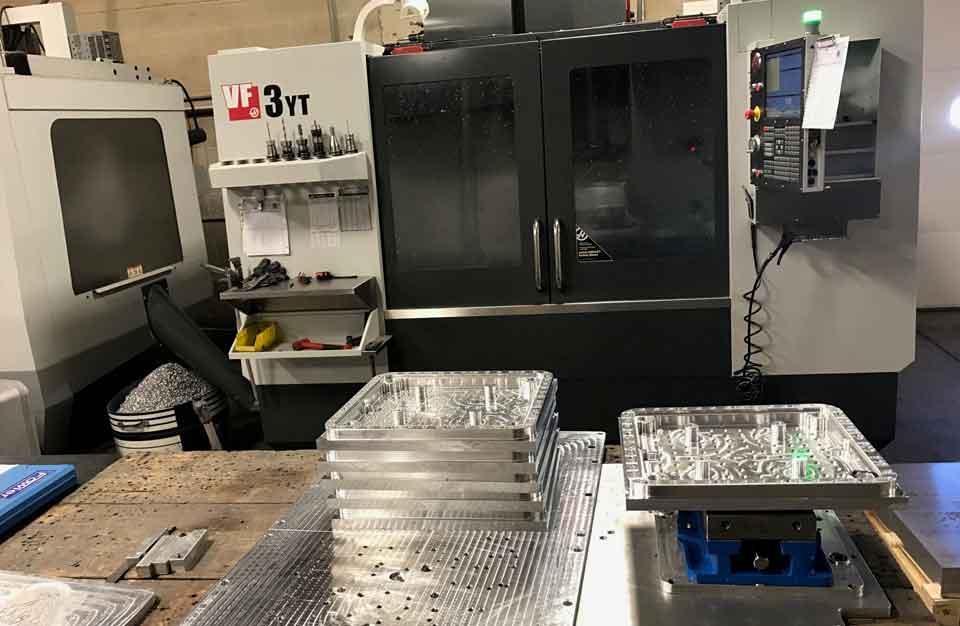CNC machining molds