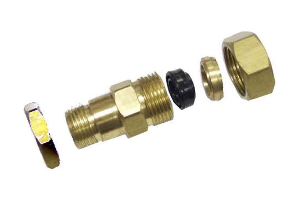 Mold Components Brass_KO_Bushing_Assy
