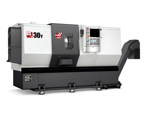 Haas DS-30Y CNC Turning Center Added